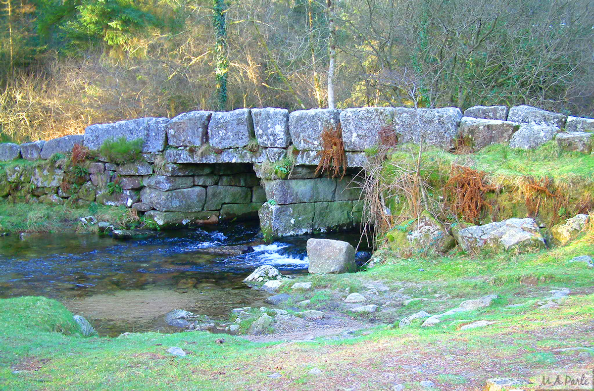 Leather Tor Bridge over the River Meavy